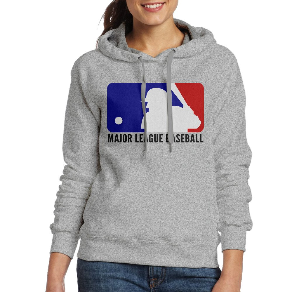 AcFun Women's Baseball League Hoodie Ash