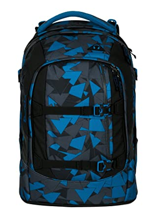 e66484a66beca Satch Schulrucksack-Set 2-TLG Pack Blue Triangle Blau  Amazon.de ...