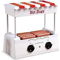 Nostalgia Roller Warmer 8 Hot Dog and 6 Bun Capacity