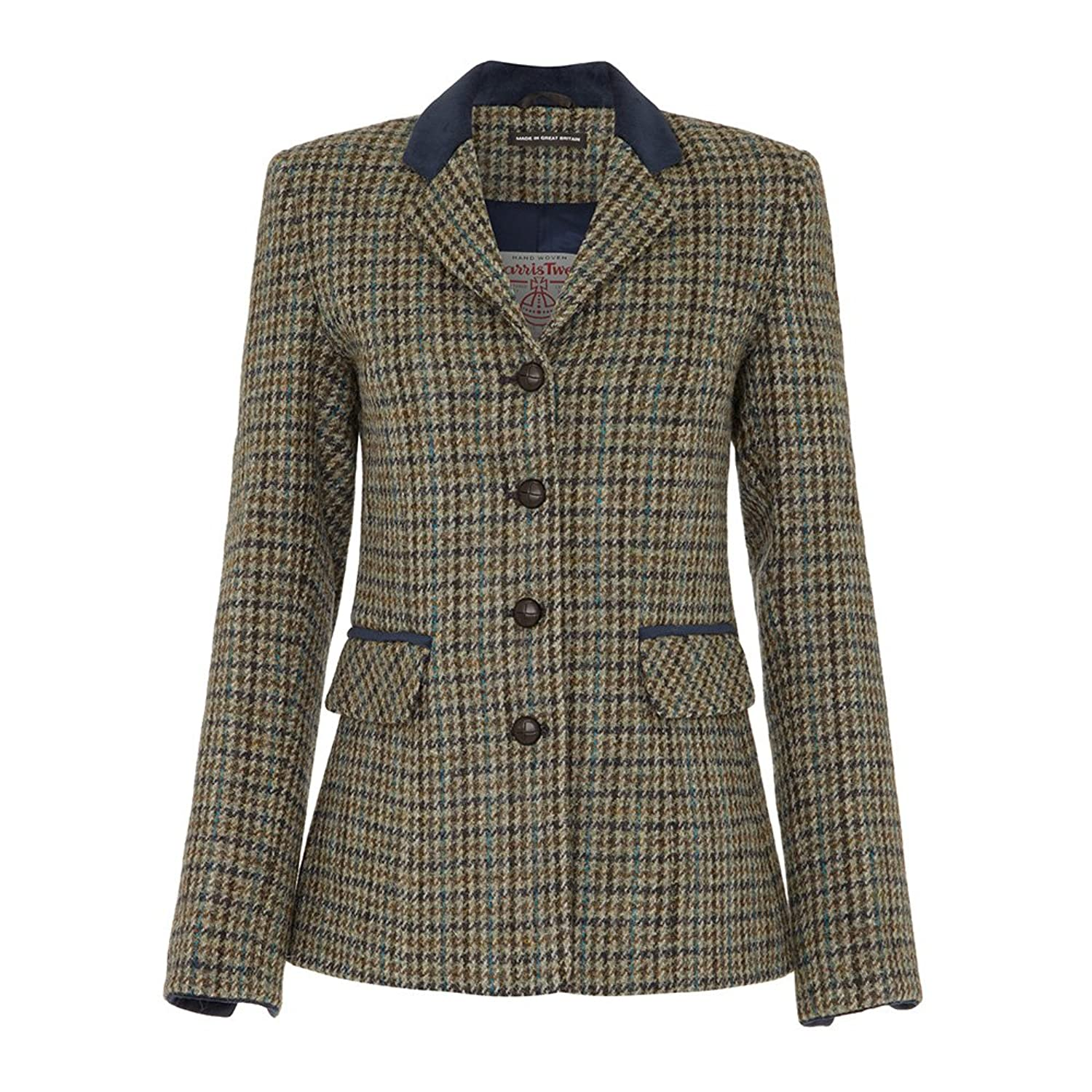 Ladies Harris Tweed Country Jacket at Amazon Women's Coats Shop