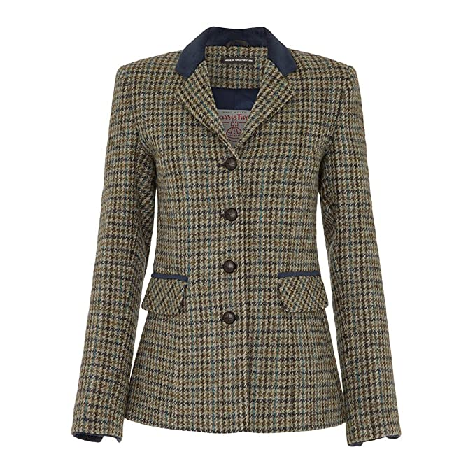 Oxfords Cashmere - Harris Tweed país Chaqueta: Amazon.es ...