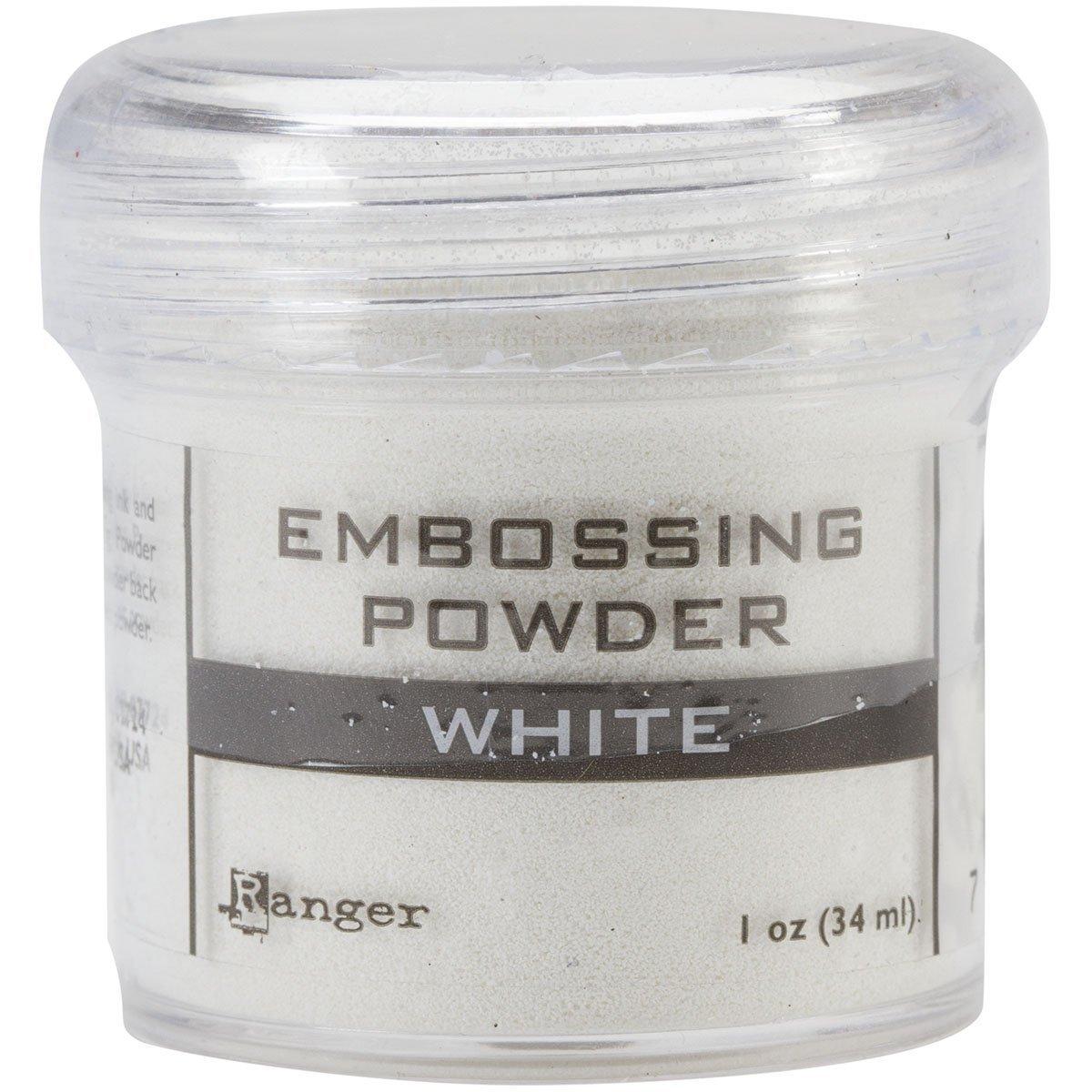 Ranger Basics Embossing Powder White (6 Pack)