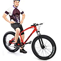 Allasfun AL-WDF01 Fat Tire Mountain Bike, 26