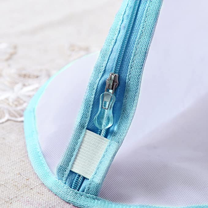 Set of 5 Washing Bag with Zipper for Intimates Garment Delicate Bra Lingerie Underwear-Blue FRMARCH Heavy Duty Mesh Laundry Bag