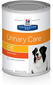 Hill's Prescription Diet c/d Multicare Urinary Care Chicken Flavor Canned Dog Food, 13 oz, 12-pack wet food