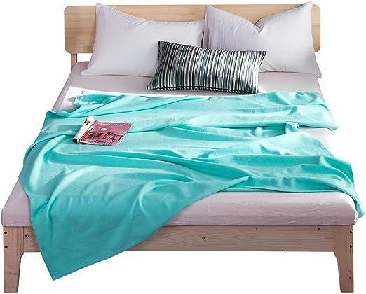 Oasis lujoso cama mantas cama mantas verano manta, 55% cáñamo 45 ...
