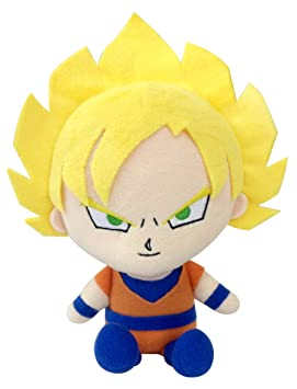 "Bandai Dbz Dragon Ball Kai Mini Plush Doll – 8 ""Super Saiyan hijo Goku"