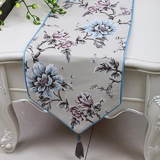 KKY-ENTER Table Runner Mantel Minimalista Elegante Mesa Mantel ...