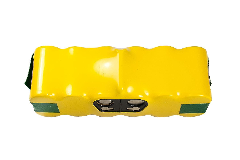 Batería Hannets® compatible con iRobot Roomba serie 600 I Batería i-Robot Batería Roomba Batería Aspiradora robotizada I Roomba serie 600 Accesorios 4500mAh ...