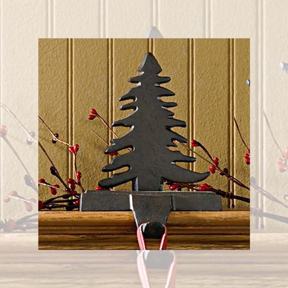 Park Designs Fir Tree Stocking Hanger Iron