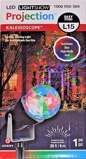 Gemmy Lightshow Multicolor Kaleidoscope