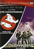Cazanfantasmas 1+ Cazafantasmas 2 [DVD]