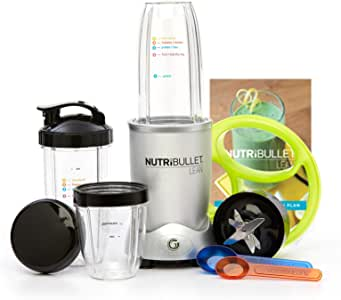 NutriBullet 10 310 Batidora de vaso 1200W Plata - Licuadora ...