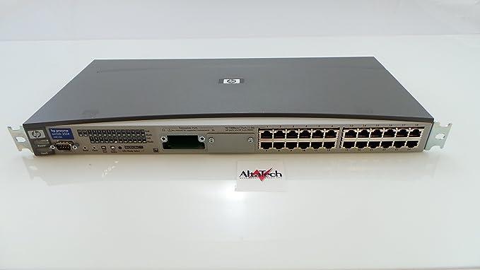 Configuring vlans on hp procurve 2524 switch.