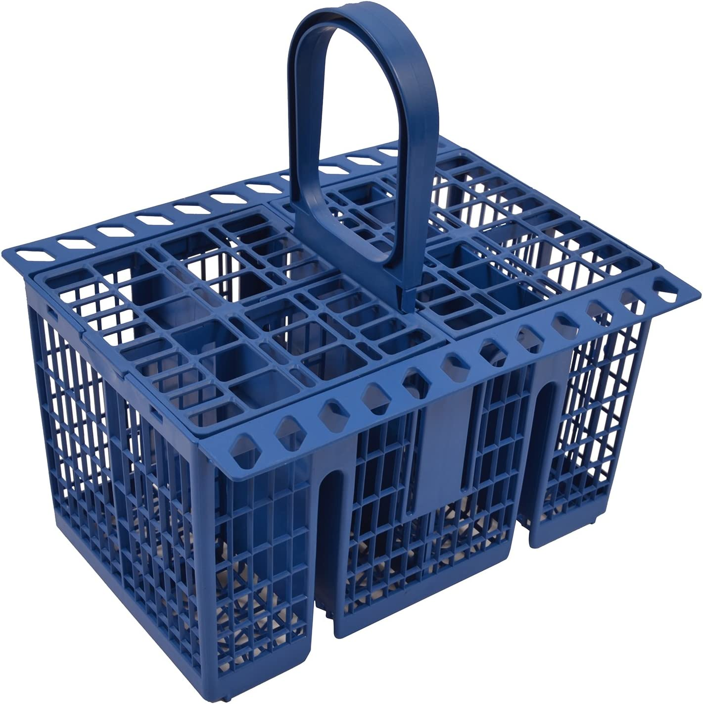 GENUINE BLUE Hotpoint Dishwasher Cutlery Basket To Fit Models See Bullet Points