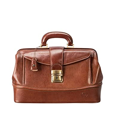 d94acdb5b0a5 Maxwell Scott Personalized Luxury Gladstone Doctor Bag (The DonniniS) -  Small