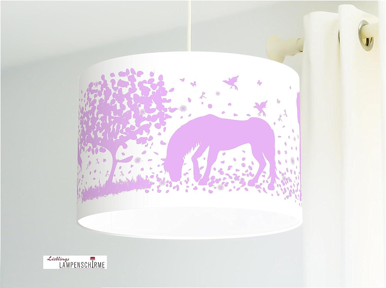 Paralume - cavalli - 35cm - desiderato colore e dimensione, su richiesta