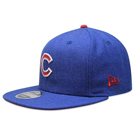 Image Unavailable. Image not available for. Color  New Era 950 Chicago Cubs Heather  Hype Snapback ... da4eef09c611