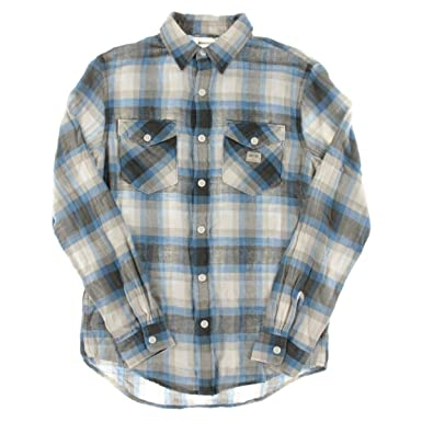 958bde89d Image Unavailable. Image not available for. Color  Denim and Supply Ralph  Lauren Mens Plaid Cotton Twill Workshirt