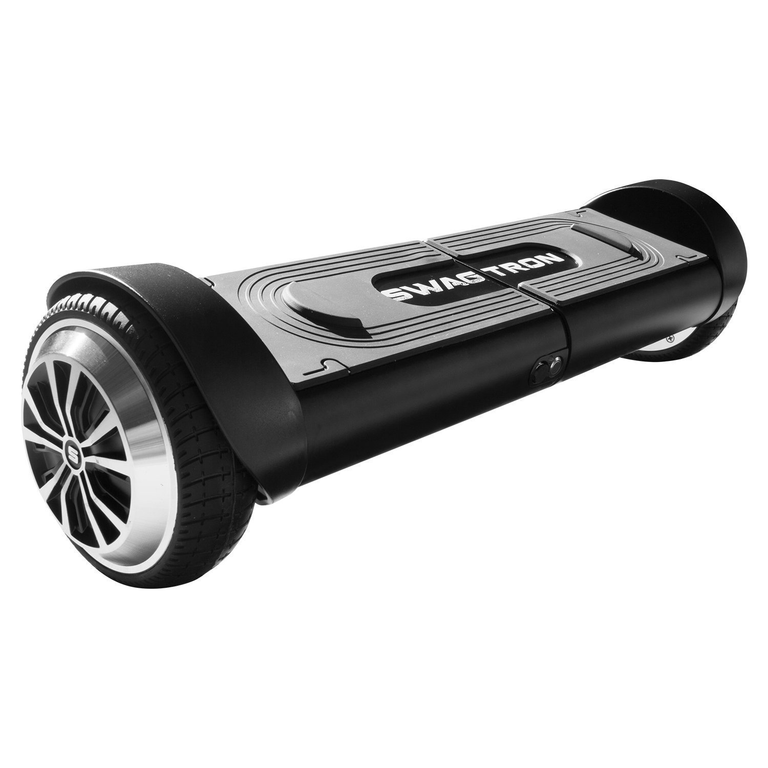 Swagtron T8 Lithium-Free Hoverboard Startup Self Balancing & Durable Metal Casing Supports Up To 200 Lbs UL2272 Battery (Black)