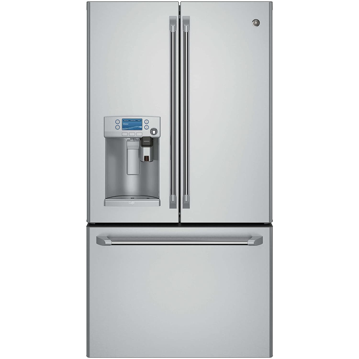 GE CFE28USHSS Cafe 27.7 Cu. Ft. Stainless Steel French Door Refrigerator-Energy Star
