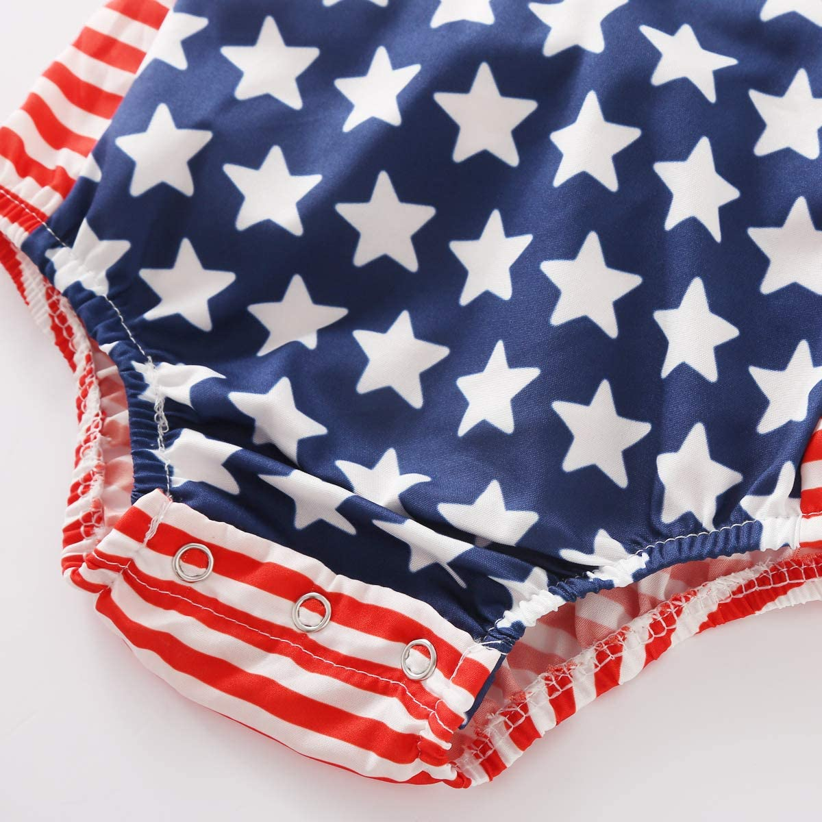 Toddler 4th of July Baby Boy Outfit Blue Star Hoodie Tops Red Striped Pants Independence Day 2PCS Set