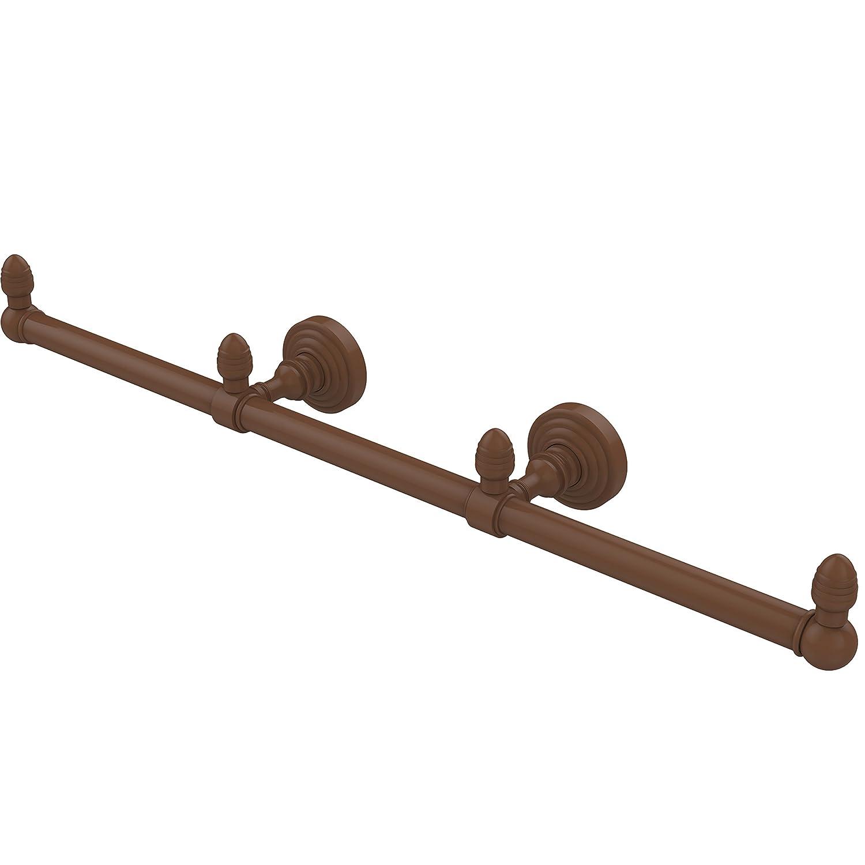 Allied真鍮Waverly Place 3アームゲストタオルバー BPWP-HTB-3-ABZ 1 B01DPULSLQ ブロンズ(antique bronze) ブロンズ(antique bronze)