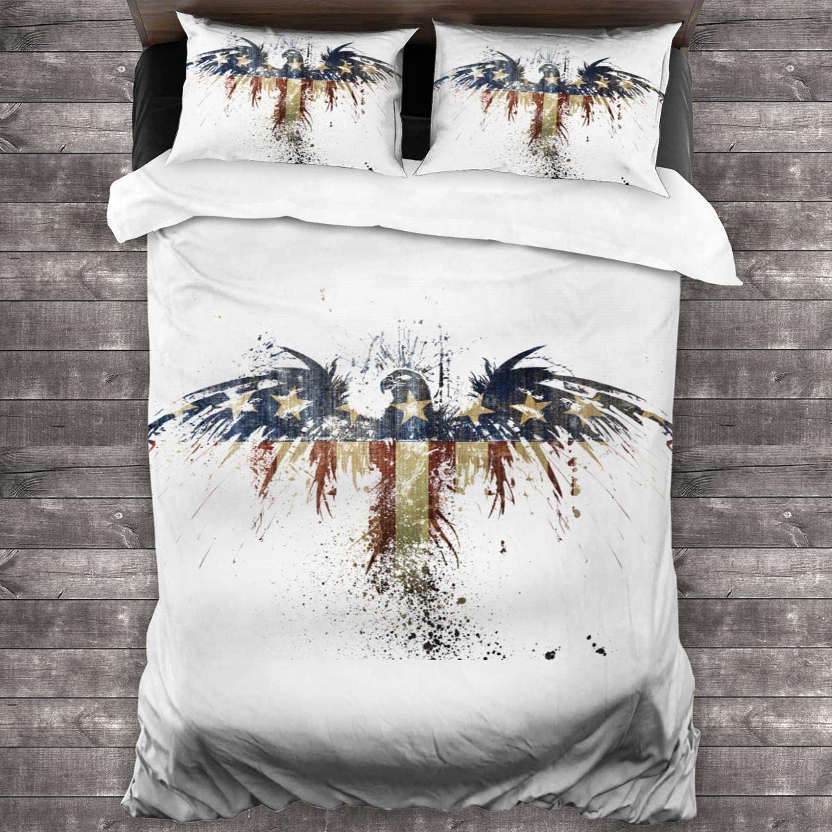NOT Eagle American 2020 Dormitory Decoration Theme 3 Pieces of Bedding and 2 Pillowcases One Size