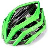 SKL Bicicleta Casco, Ligero Bicicleta Casco con Liner Ajustable Thrasher, Ajustable Thrasher Adult Ciclismo Casco