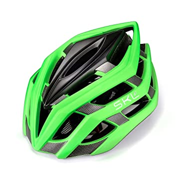 SKL Bicycle Helmet Ultralight Unisex With Safety LED Taillight Adjustable Strap Road