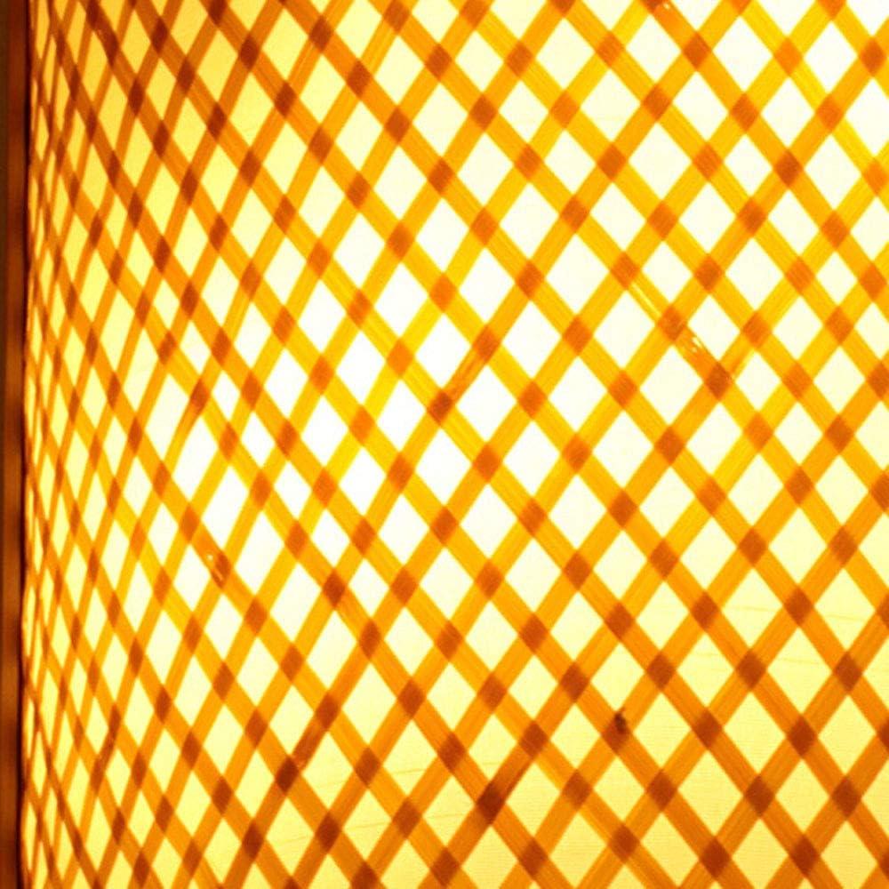 Bambou Osier Rotin Shade Tunnel Applique Murale Applique Rustique Lumi/ère Chambre Chevet Couloir 2 Lumi/ères E27 Edison Applique Luminaire Applique Lanterne D/écoration