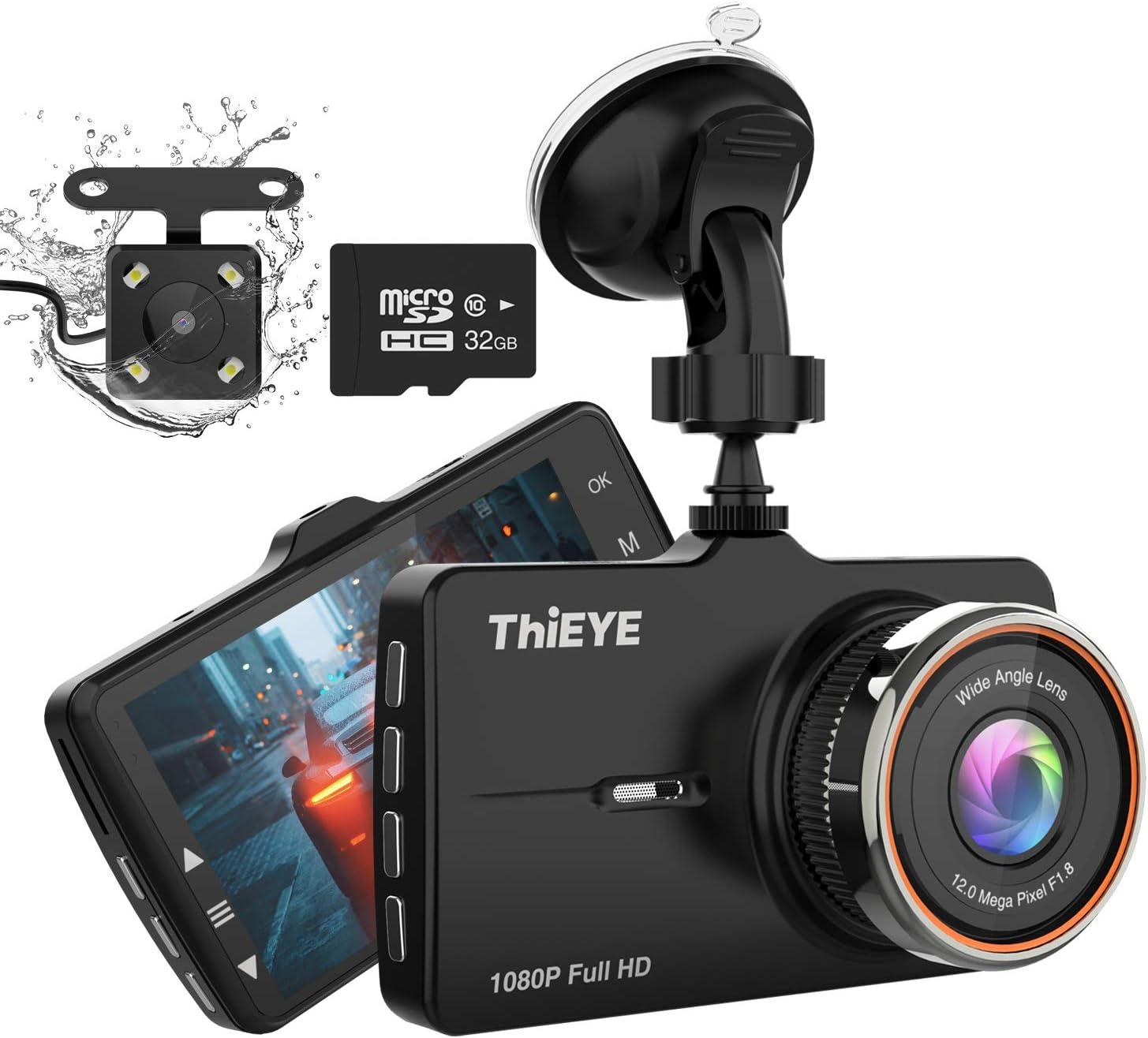 Thieye Dashcam Wifi Auto Kamera 1080p Full Hd Mit Elektronik