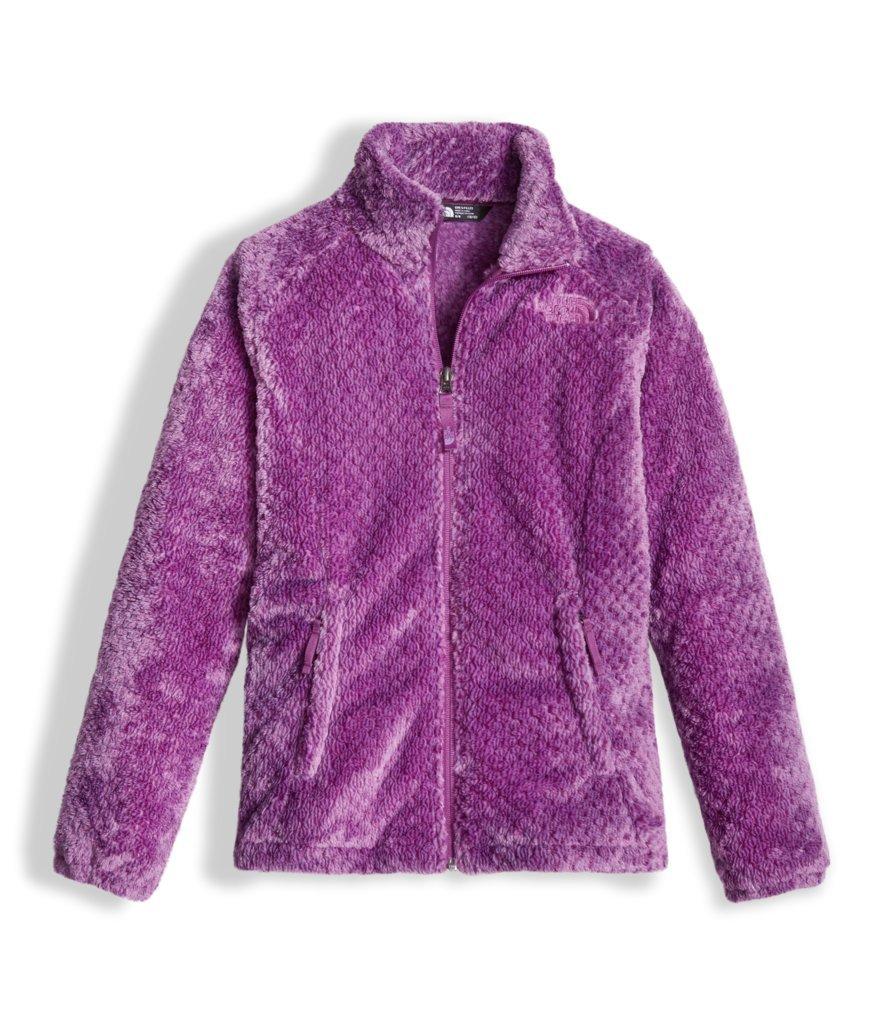 The North Face Girl's Osolita Jacket - Bellflower Purple Heather - XL (Past Season)