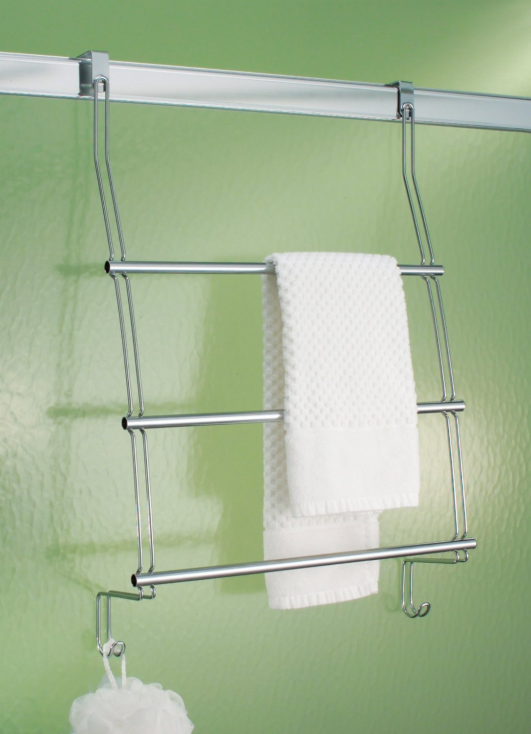 Amazon.com: Over The Door 3 Tier Towel Bar Rack Bath Accessory Hardware  (Bronze): Home U0026 Kitchen