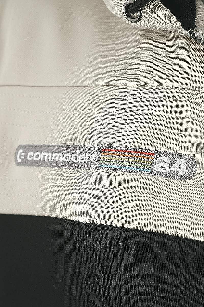 Commodore 64 C64 Logo Felpa Jogging Nero//Grigio