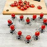 CHIPYHOME Set 24 unds divertidos y originales pinchos hormiga reutilizables para aperitivos canapes salchichas, quesos