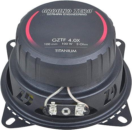 Ground Zero Gztf 4 0x 10 Cm Coax Speaker Navigation Car Hifi