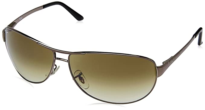 3fb0d85f6d Ray-Ban 3342 004 51 Gunmetal 3342 Warrior Aviator Sunglasses Lens Category  2 Si