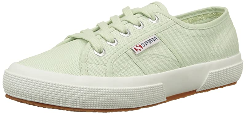 Superga 2750 Cotu Classic Sneakers Low-Top Unisex Damen Herren Grün (Mint)