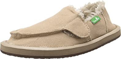 b7137ec9790 Sanuk Kids Boy s Vagabond Chill (Toddler Little Kid) Tan Slipper 11 Little  Kid