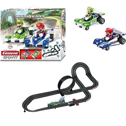 Amazon.com: 1/43 Carrera Go. Mario Kart Slot Car Set: Toys ...