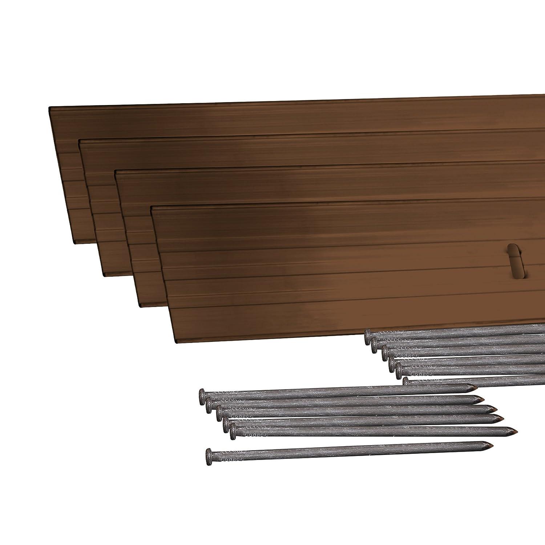 Amazon.com : Dimex EasyFlex Aluminum Landscape Edging Project Kit ...