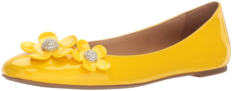 Marc Jacobs Women's Daisy Ballerina Ballet Flat B075Y6392L 40.5 M EU (10.5 US)|Yellow