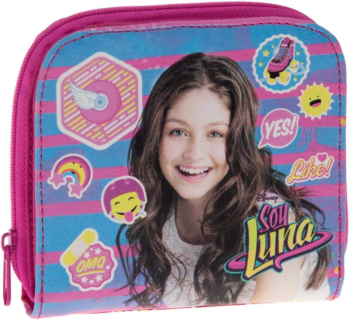 Disney Yo Soy Luna Monedero, 0.35 litros, Color Rosa: Amazon.es: Equipaje