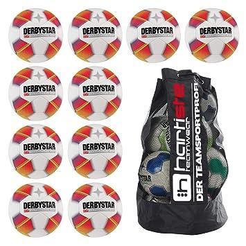 290g Größe 5 Fußball Ballpaket 10x Derbystar Jugendfußball Stratos PRO S-Light ca