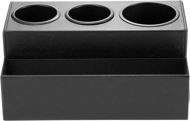 JackCubeDesign Secador de pelo Soporte Organizador Herramienta Bandeja de ba/ño 3 agujeros MK154C Negro