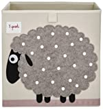 Amazon Price History for:3 Sprouts Storage Box, Sheep, Beige