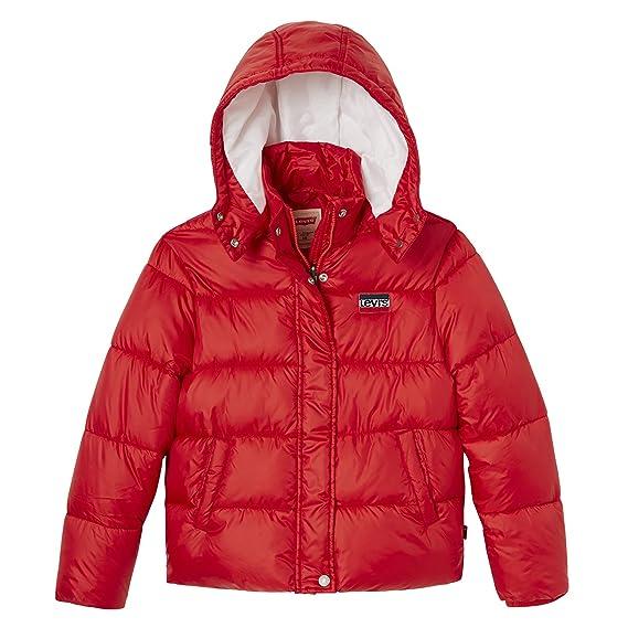 d50e532b679c Levi s Kids Girl s Raincoat NM41517 (Dark Red 37)  Amazon.co.uk ...