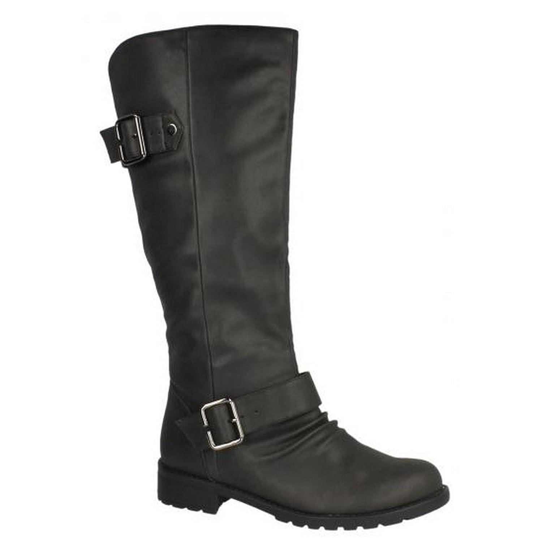 Spot on Damen Knie hohe Stiefel Stiefel Stiefel 666860