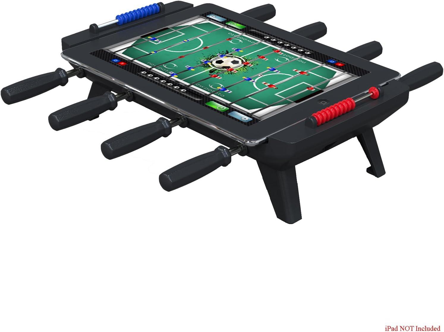 New Potato Technologies USA Foosball Tournament - Mesa de futbolín para iPad 1/2/3, color negro: Amazon.es: Juguetes y juegos